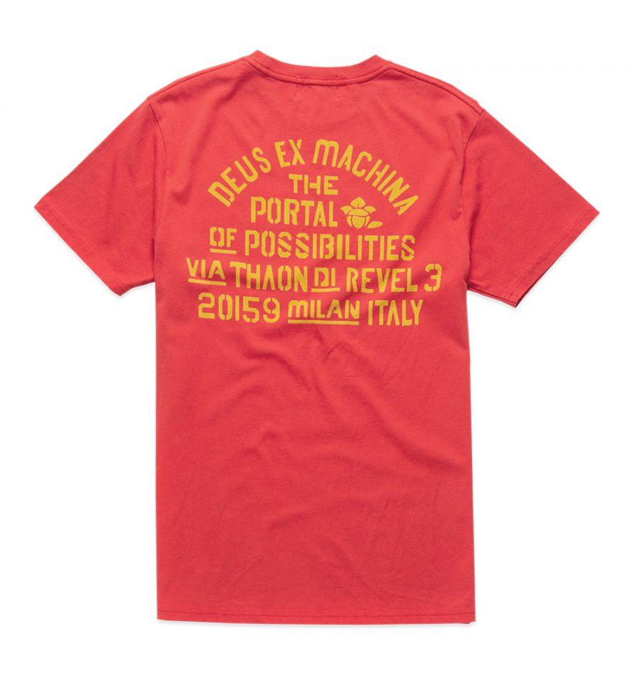 DMP201473B.Yj Milan Tee.Red Molten.2
