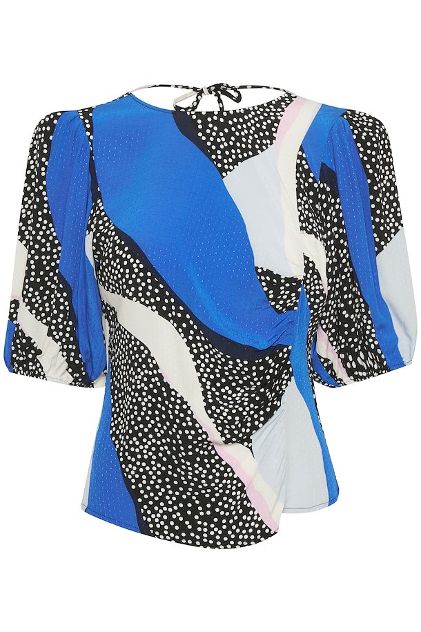blue-pink-colorblock-glowiegz-blouse-with-short-sleeve